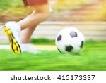 football game slow motion  body ... | Shutterstock . vector #415173337