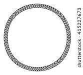old classic border rounder... | Shutterstock .eps vector #415227673