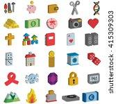 A Miscellaneous 3d Icon Set