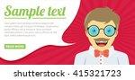 fun concept. vector flat design ... | Shutterstock .eps vector #415321723