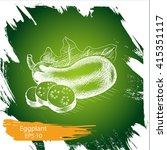 vector illustration sketch... | Shutterstock .eps vector #415351117