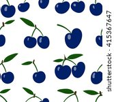 seamless vector pattern with... | Shutterstock .eps vector #415367647