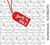 lingerie woman underwear on...   Shutterstock .eps vector #415382293