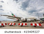 prague   may 1  an emirates... | Shutterstock . vector #415409227