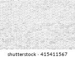 white brick wall   Shutterstock . vector #415411567