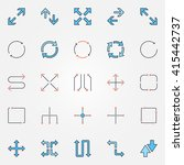 arrow icons set   vector...