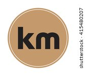 km brown letters  abstract... | Shutterstock .eps vector #415480207