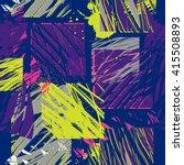 grunge geometric pattern for... | Shutterstock .eps vector #415508893