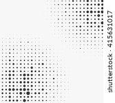 circle halftone element ...   Shutterstock .eps vector #415631017