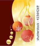 christmas card | Shutterstock .eps vector #41564269