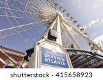 Skyview Atlanta   Big Ferris...