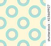 seamless vector pattern ... | Shutterstock .eps vector #415669927