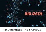 big data visualization.... | Shutterstock .eps vector #415724923