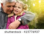 Grandfather Hugging...