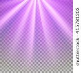 purple flare rays. violet... | Shutterstock .eps vector #415781203