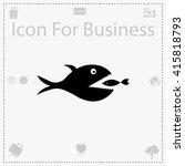 big fish icon. big fish vector. ...