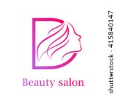 Abstract Letter D Logo Beauty...
