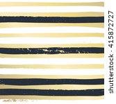 trendy gold strip vector... | Shutterstock .eps vector #415872727