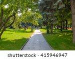 tainitsky park landscape garden ... | Shutterstock . vector #415946947
