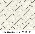 abstract seamless pattern. line ... | Shutterstock .eps vector #415992913