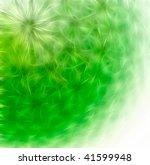 Floral Pattern. Closeup Fracta...