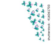 butterfly | Shutterstock .eps vector #416061703