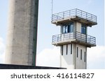 Prison Security Tower And Meta...