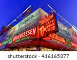 brooklyn  new york   march 26 ... | Shutterstock . vector #416165377