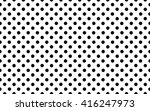 black polka dot background... | Shutterstock . vector #416247973