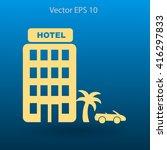 hotel vector illustration | Shutterstock .eps vector #416297833