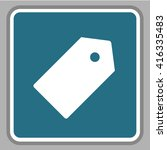 price tag icon  | Shutterstock .eps vector #416335483