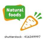 natural foods illustration. the ...   Shutterstock .eps vector #416349997