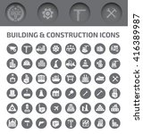 building and construction icon... | Shutterstock .eps vector #416389987