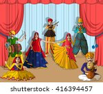 vector design of colorful... | Shutterstock .eps vector #416394457
