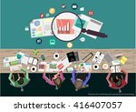 vector businessman...   Shutterstock .eps vector #416407057