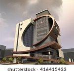 3d rendering and design  ...   Shutterstock . vector #416415433