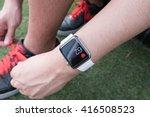 bangkok  thailand   aug 16 ... | Shutterstock . vector #416508523