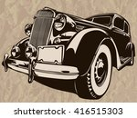 vector illustration of american ... | Shutterstock .eps vector #416515303