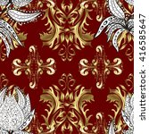 vector seamless texture with... | Shutterstock .eps vector #416585647