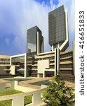 3d rendering and design  ...   Shutterstock . vector #416651833