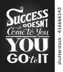 inspirational motivational... | Shutterstock .eps vector #416666143