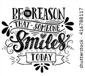 be the reason that someone... | Shutterstock .eps vector #416788117