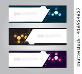vector design banner background. | Shutterstock .eps vector #416934637