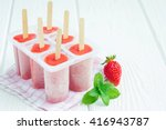 Homemade Popsicles With...