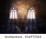 illustration of an abstract... | Shutterstock . vector #416972563