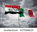 3d illustration of syria  ...   Shutterstock . vector #417068623