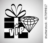 vip design. exclusive concept.... | Shutterstock .eps vector #417099817