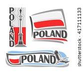vector illustration of the logo ...   Shutterstock .eps vector #417111133