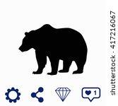 bear icon. universal icon to...