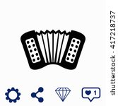accordion icon. universal icon...